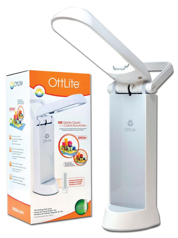 Ott-Lite Task Lamp (lamp color will vary)