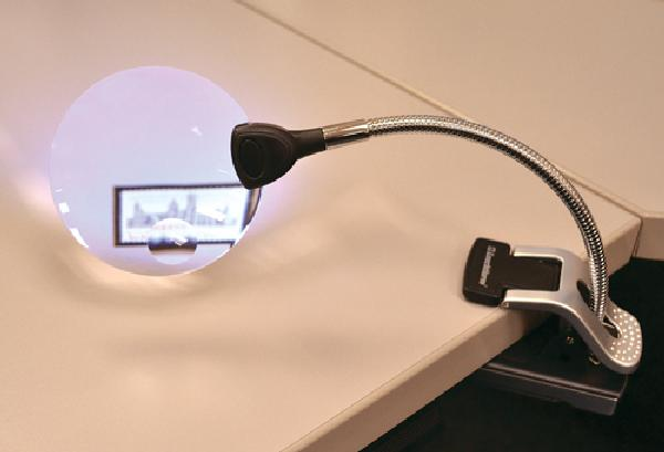 Lighthouse 2.5 Power Tabletop Magnifier