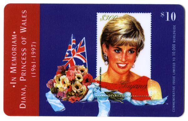 Diana Phone Card
