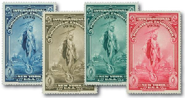 1936 Philatelic Exhibition Poster Stamps