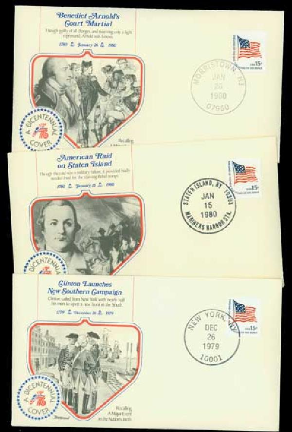 American Epic Events 10 different Cacheted Covers