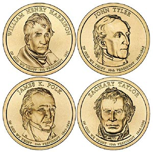 2009 $1 President Coins