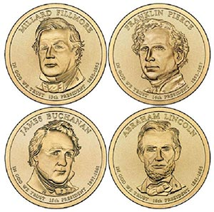 2010 $1 President Coins