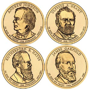 2011 $1 President Coins