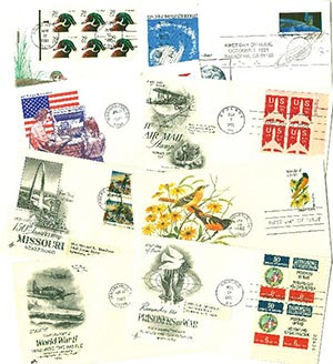 U.S. First Day Cover Collection, Set of 25