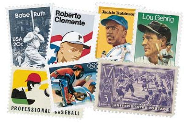 US Baseball Collection, 7v, Used