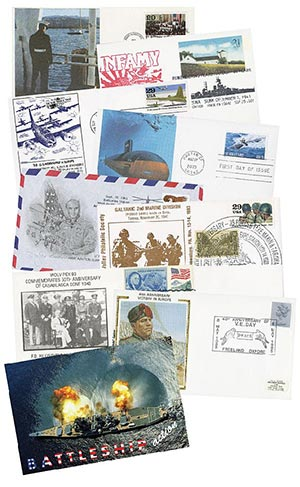 US & Foreign Military Cover Collection, Set of 100