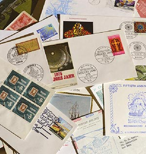 One Lb. of US and Foreign Covers