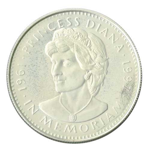 Diana Official Memoriam, Cupronickel