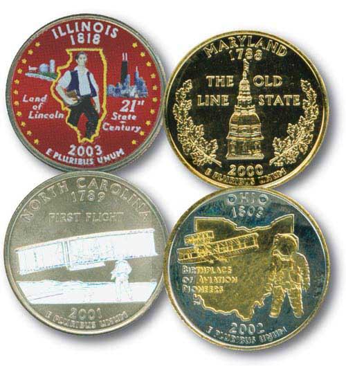 Premium Quarter Collection, Set of Four