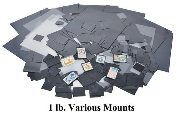 One Pound Mixed Mounts-various sizes
