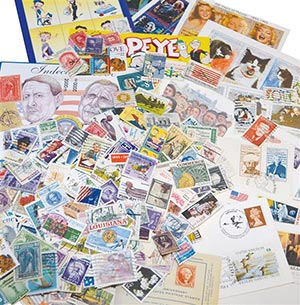 Worldwide Mystery Mix - 500 unpicked stamps, plus other neat philatelic treasures