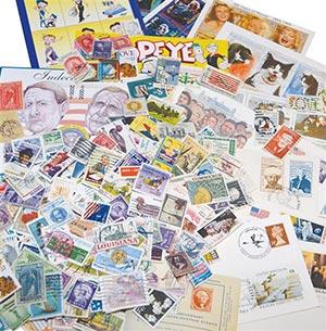 Worldwide Mystery Mix - 500 unpicked stamps, plus other neat philatelic treasures