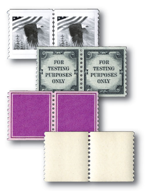US Postage Test Coil Pairs, Set of 3 with FREE Pair