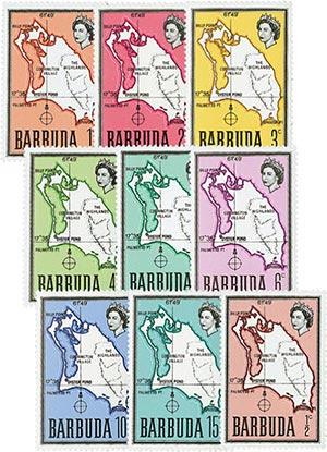 1968-70 Barbuda Scott #12-20