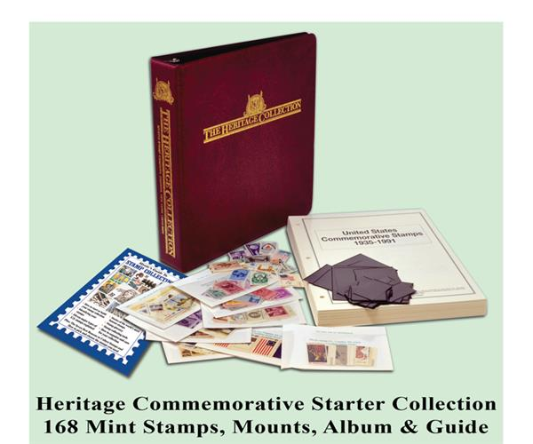 Heritage Stamp Starter Collection