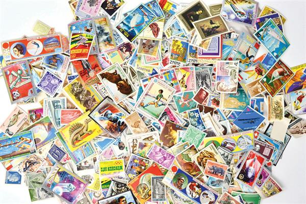 1000 Mint Worldwide Stamps