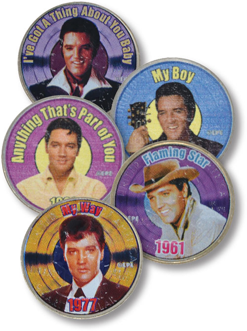 Elvis My Way and More, 5 Quarters
