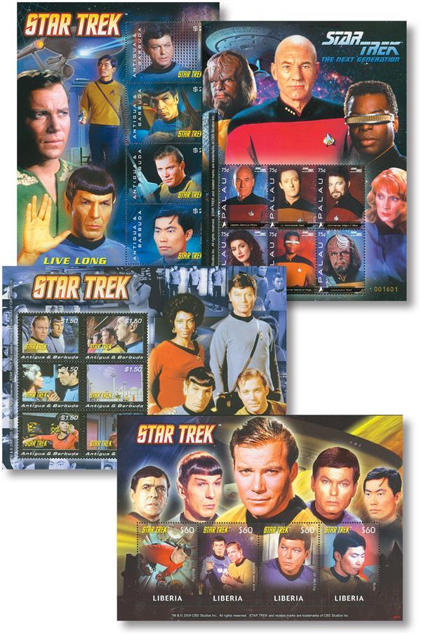 2008 Star Trek Sheets, Set of 4