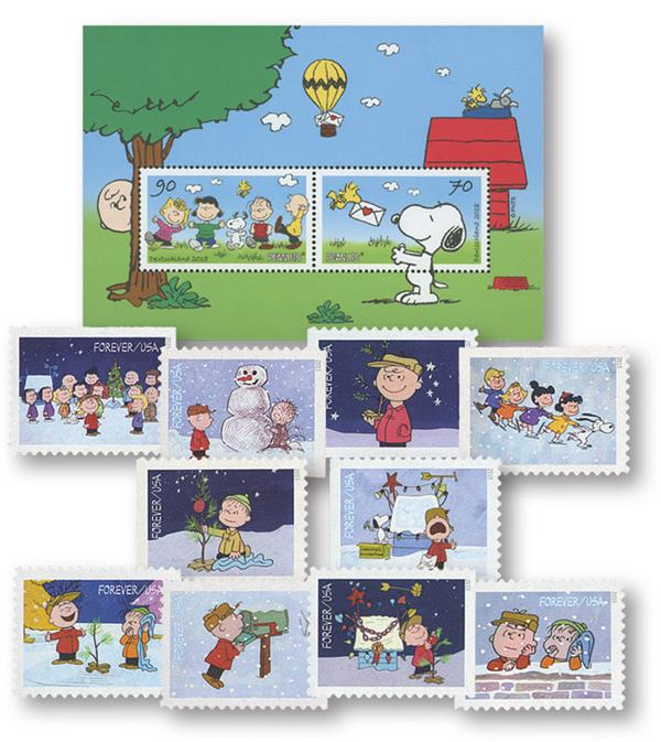 2015-18 US and Germany Peanut Stamps