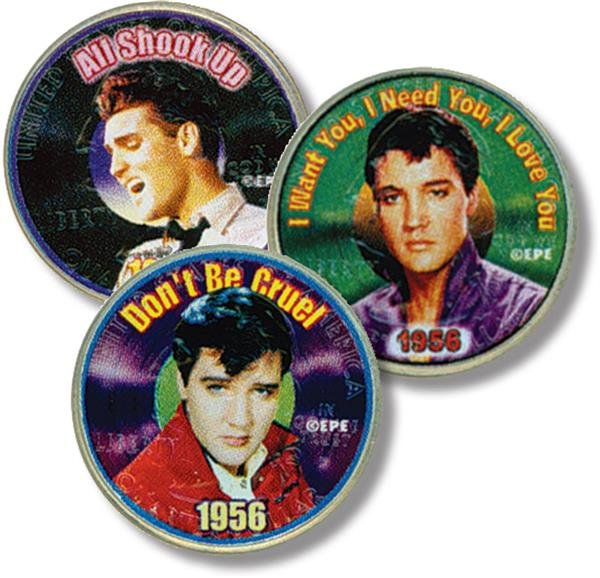 "Elvis Quarters: ""All Shook Up,"" ""Want You,"" & ""Dont be Cruel"""