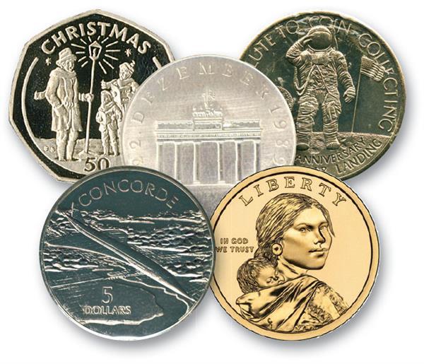 Worldwide Coin Mix, Set of 10, Mystics Choice