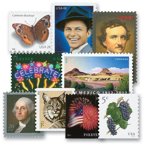 40 Mint US Stamps for Volume 3 American Heirloom Album