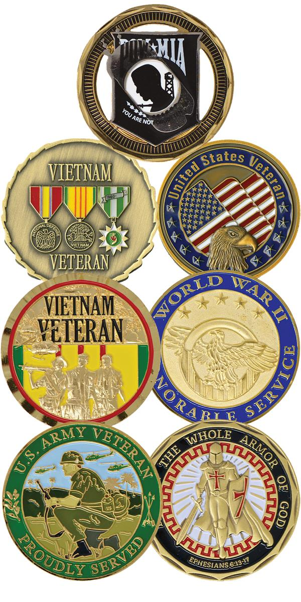 Challenge Coin, Set of 7
