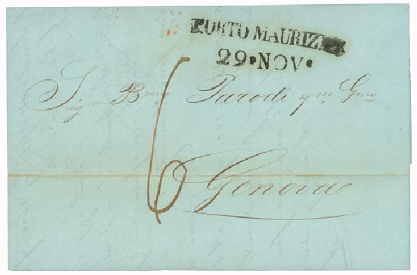 Italian Stampless Covers set of 3