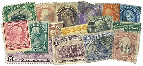US Stamps Packet - $500 Catalog Value