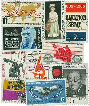 1960-69 Commemoratives, 194 stamps, used