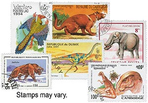 Dinosaurs, set of 25, used