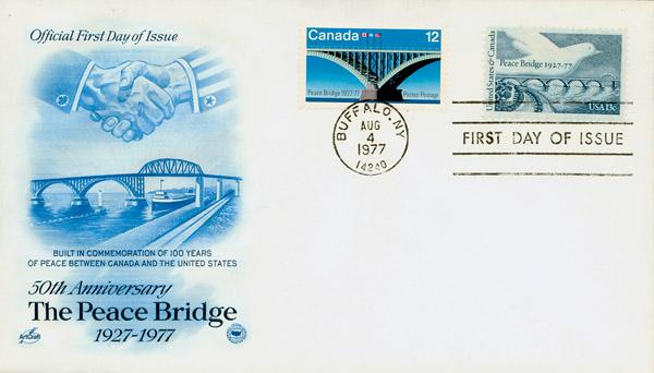Peace Bridge FDC US/Canada Issues
