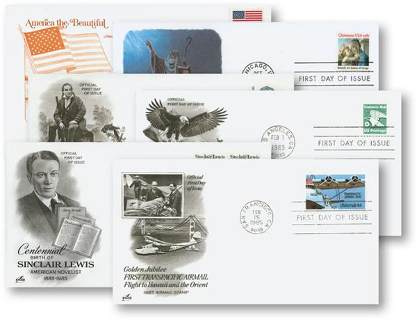 25 Different US First Day Covers