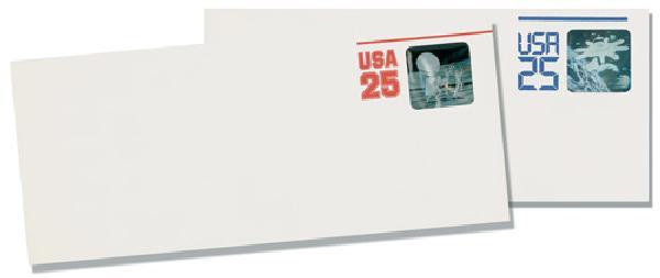 Hologram Envelopes, set of 2