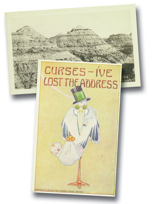 25 Assorted Postcards