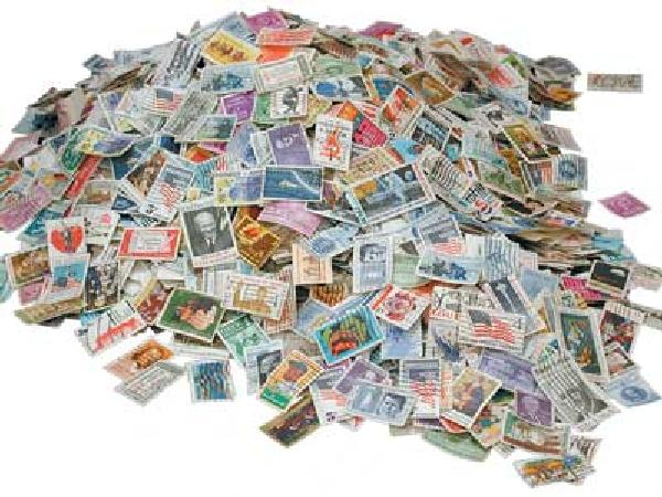 1/2lb. US Commemoratives off paper, used