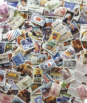 500 US Commemoratives, used