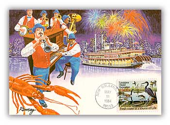 1984 20c Louisiana World Exposition