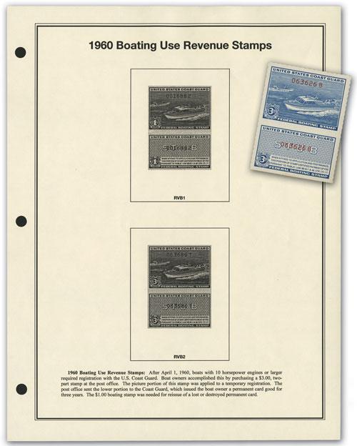 Coast Guard Mint # RVB2 w/ free page