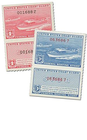Coast Guard Mint #RVB1-2 w/ free page