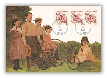1985 6c Tricycle Maximum Card