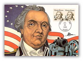 Item #M85-43 –Henry Knox First Day Maximum card.
