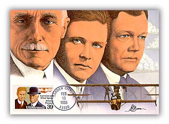 1985 39c Lawrence and Elmer Sperry Airmail