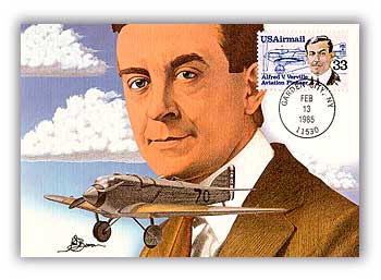 1985 33c Alfred Verville Airmail