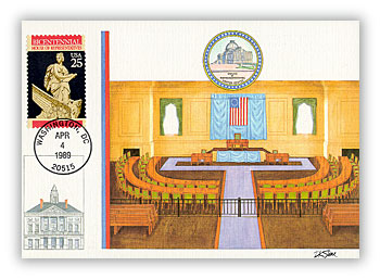 1989 25c House of Representatives
