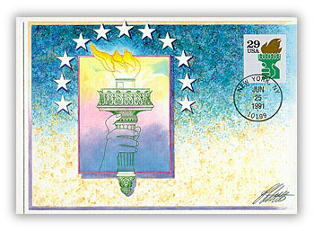 1991 29c Liberty Torch ATM