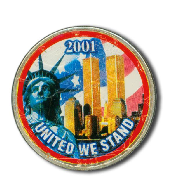 2001 US Silver Dollar, United We Stand - Only 1 available