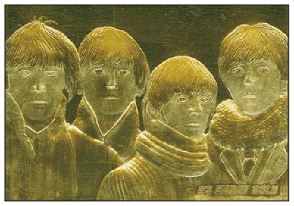 Beatles For Sale Gold Trading Card