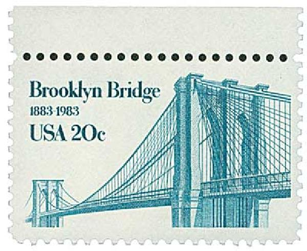 1983 Brooklyn Bridge #2041 short transfer single
